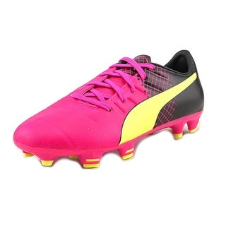 Puma evoPOWER 3.3 Tricks FG Jr Youth Round Toe Synthetic Multi Color Cleats