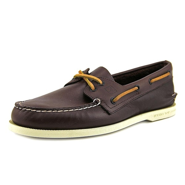 Sperry Top Sider A/O Men  Moc Toe Leather  Boat Shoe
