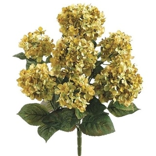 20 Inch Hydrangea Bush - Green - Qty of 6