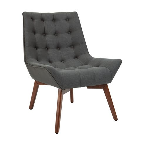 Shelly Tufted Chair with Coffee Legs