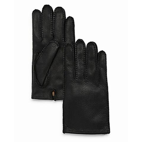 The Men's Store Men's Gloves Black Size Small S Winter Deerskin Leather