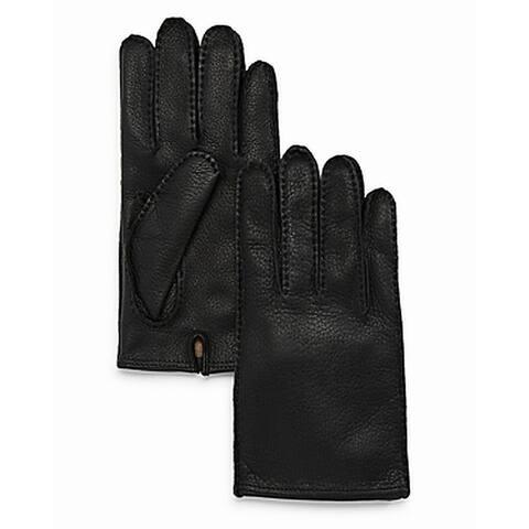 The Men's Store Mens Gloves Black Size Medium M Winter Tech Tip Leather