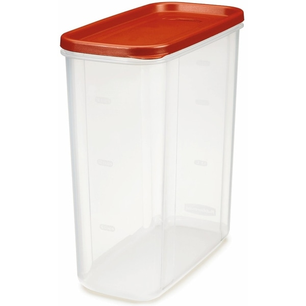 Rubbermaid 1776473 Dry Food Storage, 21 Cup, Clear Base