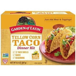Garden Of Eatin' - Taco Yellow Corn Dinner Kit ( 12 - 9.4 oz boxes)