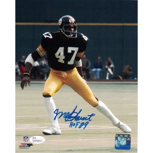 outlet store fd7c1 edb3a Mel Blount Autographed Pittsburgh Steelers 8x10 Photo JSA