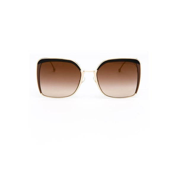 44b482773b30 Shop Fendi Ff0294S Women s Metal Sunglasses - Brown - One Size ...