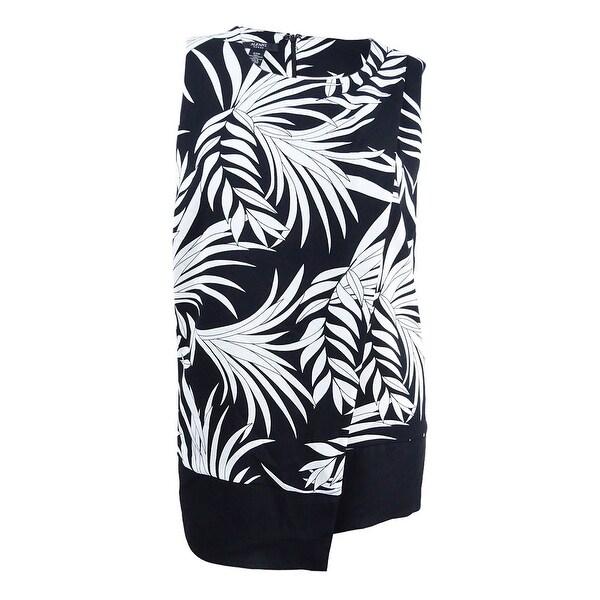 fc7fbc1aadddf Shop Alfani Women s Plus Size Printed Layered Top (20W