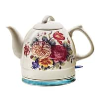 English Garden Electric Teakettle - 34 Ounce