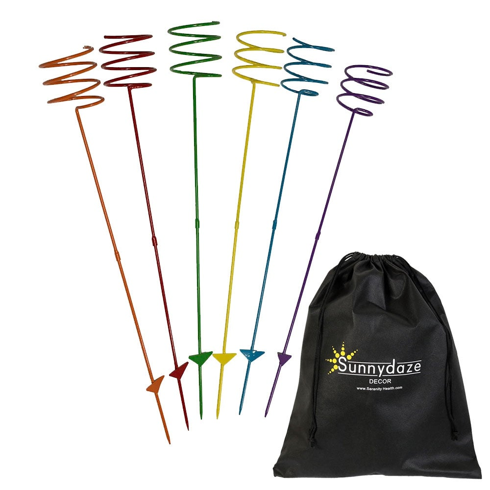 Sunnydaze Heavy Duty Multi Colored Outdoor Drink Holder, Options Available - Thumbnail 6