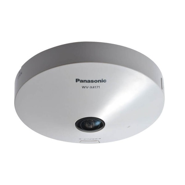 Panasonic Security Systems Group - Wv-X4171 - 360-Degree Indoor Dome 9 Megapixel Network Camera