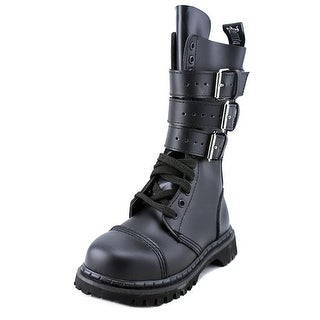 Demonia Gravel-14 Leather Motorcycle Boot