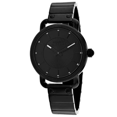 Jean Paul Gaultier Men's Index Black Dial Watch - 8504402