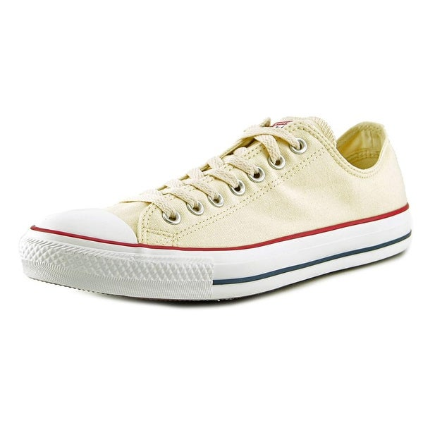 Converse Chuck Taylor All Star Ox Men  Round Toe Canvas Ivory Sneakers