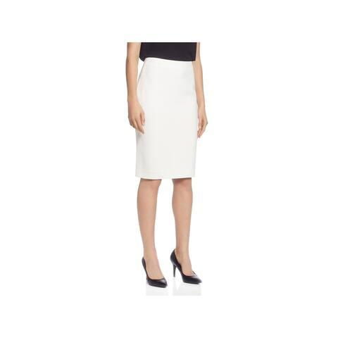 T Tahari Womens Straight Skirt Office Wear Business