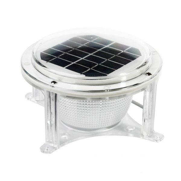 Dock Edge Piling Solar Dome Light