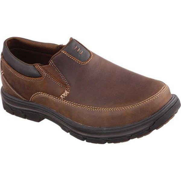 7e3c209bd3c Shop Skechers Men s Relaxed Fit Segment The Search Brown - On Sale ...