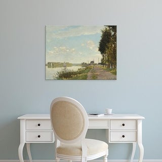 Easy Art Prints 's 'Argenteuil, c. 1872' Premium Canvas Art
