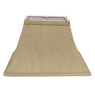 Link to Cloth & Wire Slant Rectangle Bell Hardback Lampshade with Washer Fitter, Tan Similar Items in Lamp Shades