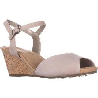 Aerosoles Cupcake Wedge Sandals, Bone