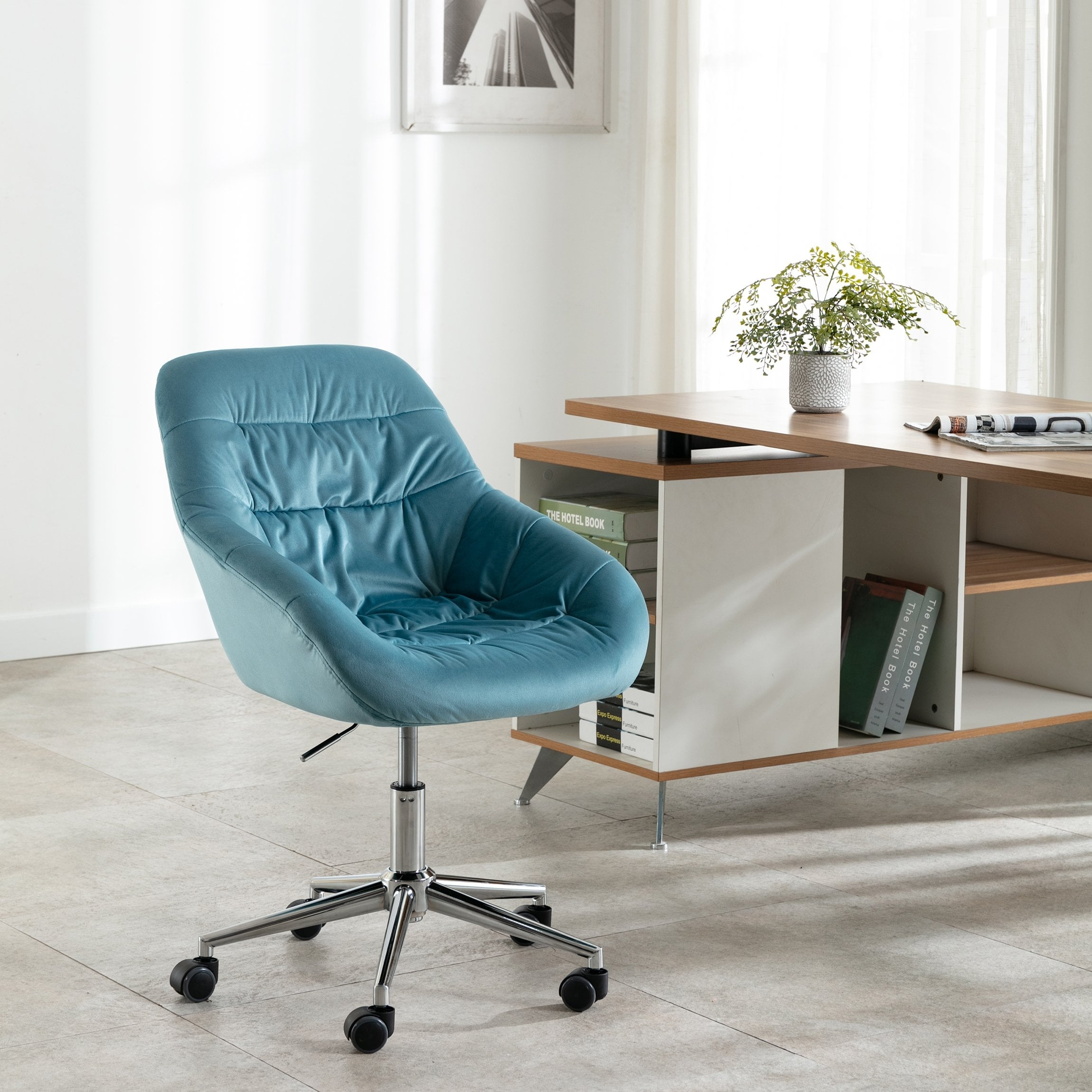 Image of: Shop Black Friday Deals On Home Office Swivel Desk Task Chair Overstock 31733771