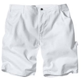 "Dickies DX400NT 38 Men's Painter's Shorts, 38"", Natural"