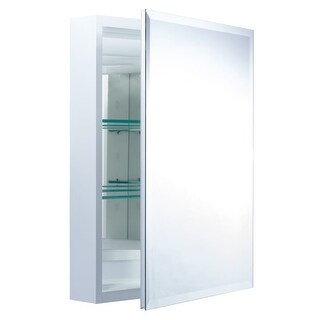 "Miseno MBC2620 Dual Mount 26"" X 20"" Beveled Medicine Cabinet (Surface or Recessed Mounting) - N/A"