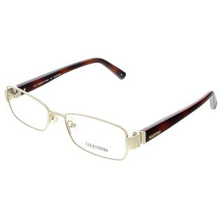 Valentino V2105R Light Gold Rectangular Valentino Eyewear