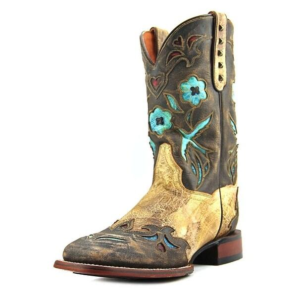 Dan Post Bluebird Women Round Toe Leather Brown Western Boot