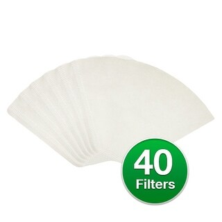 """""""Replacement Coffee Paper Filter for Braun 624404 / #4 Cone Filters (Single Pack) Replacement Coffee Paper Filter"""""""