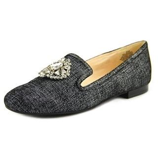 Nine West Longshot Round Toe Leather Loafer