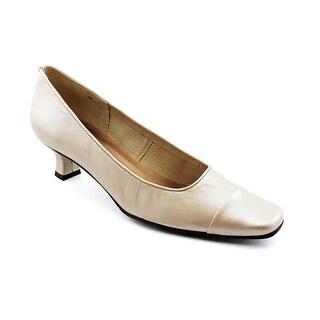 Mezzo Rickie N/S Square Toe Leather Heels