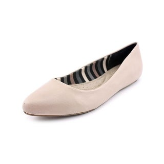 Dr. Scholl's Really Round Toe Leather Flats
