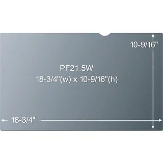 3M Privacy Filter, 21.5 inch, Widescreen LCD, Aspect Ratio 16:9