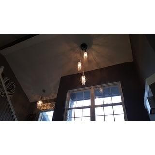 Porch & Den Riverwest Humboldt Chrome Finish Single-light Crystal Chandelier