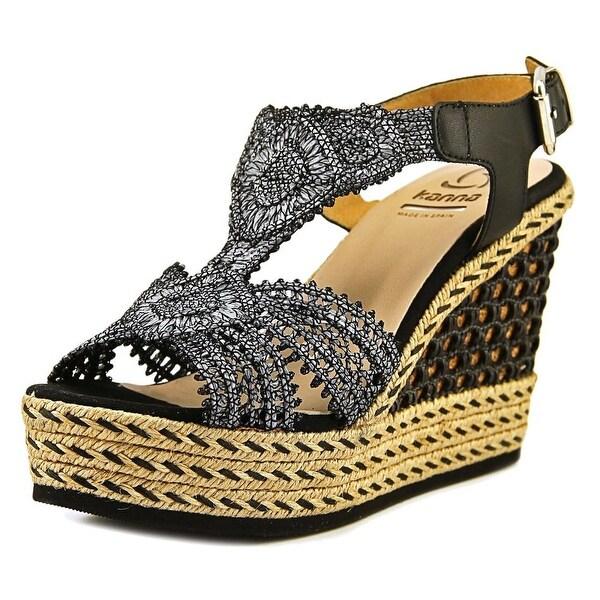 Kanna kv7266 Women Black Sandals
