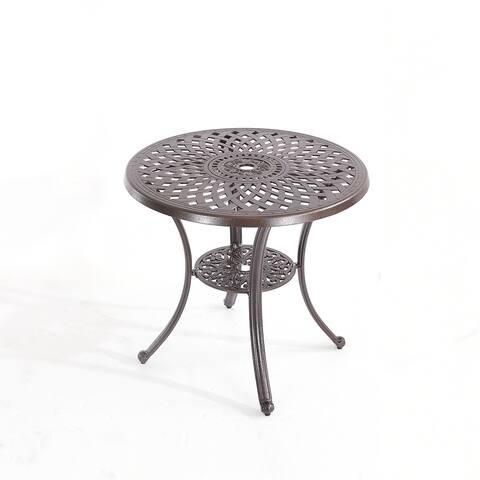 31''Elizabeth Cast Aluminum Table