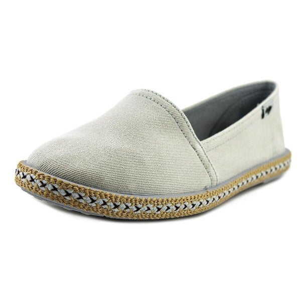 Rocket Dog Acosta Women Round Toe Canvas Blue Loafer