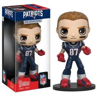 New England Patriots NFL Funko Wobbler Rob Gronkowski