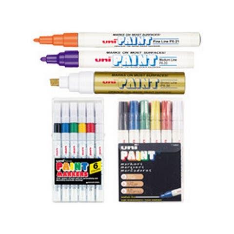 Sanford 63613 uni paint medium marker white