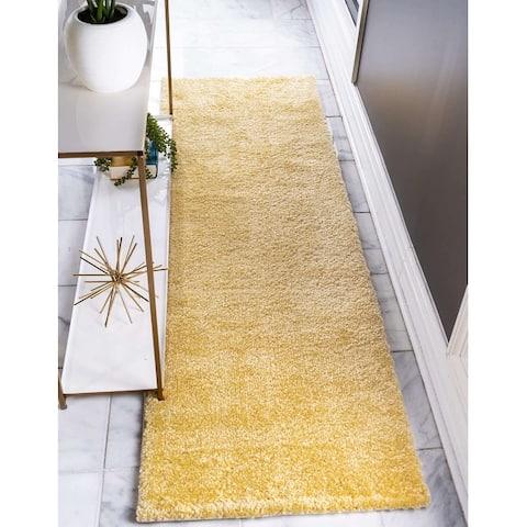 Unique Loom Solid Calabasas Solo Area Rug