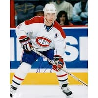 Signed Recchi Mark Montreal Canadiens 8x10 Photo autographed