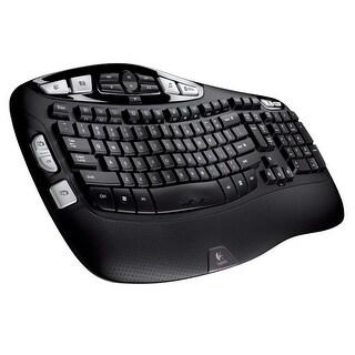 Logitech MK570 Comfort Wave Wireless Keyboard & Laser Mouse (Refurbished)