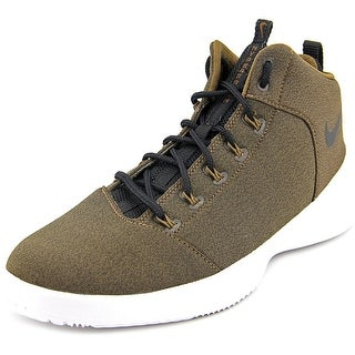 Nike Hyperfr3sh Men Round Toe Canvas Brown Basketball Shoe