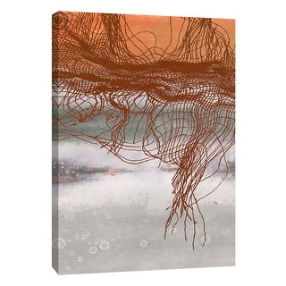 """PTM Images 9-105855  PTM Canvas Collection 10"""" x 8"""" - """"Frayed Abstract 1"""" Giclee Abstract Art Print on Canvas"""