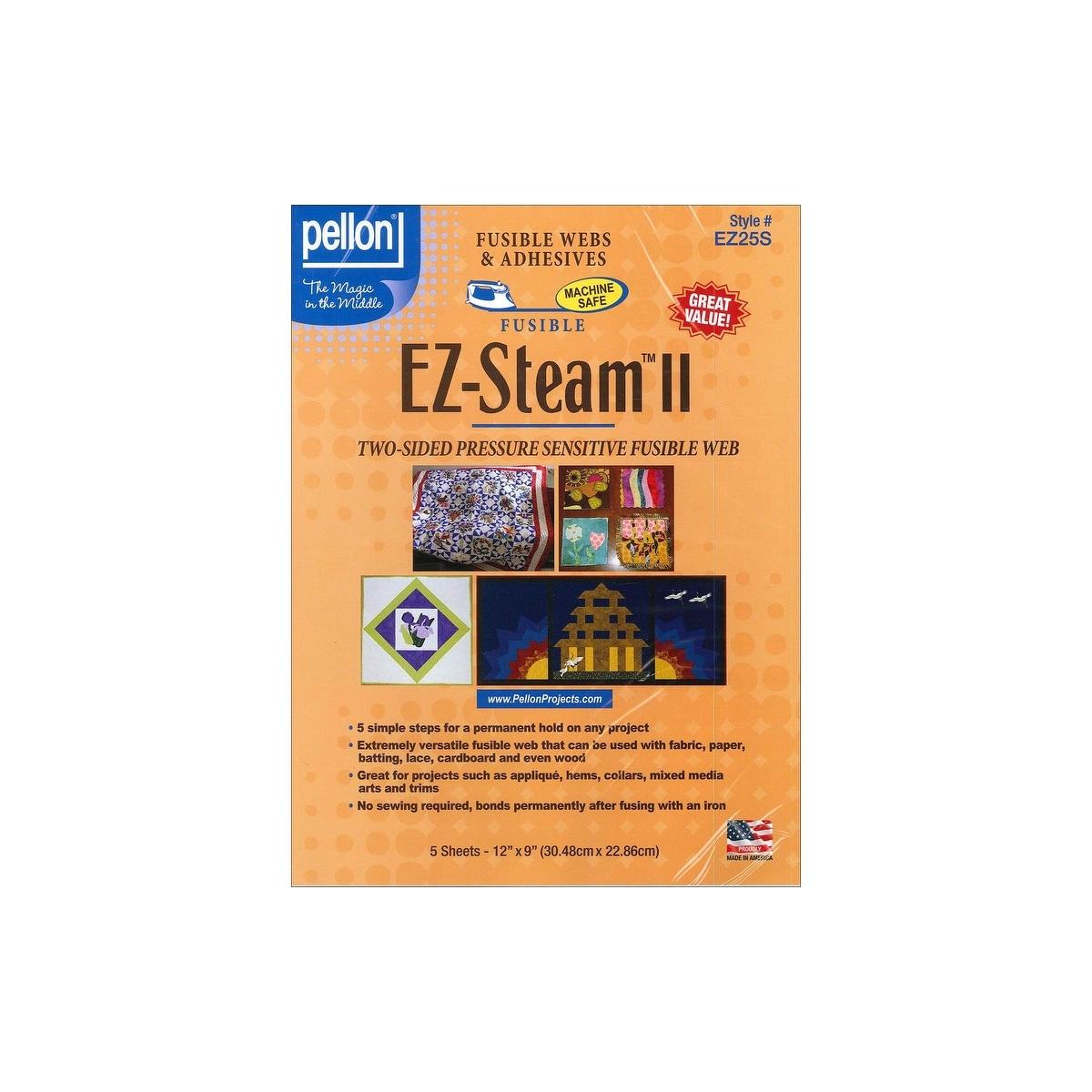 "Pellon EZ-Steam II LIte-12/""X9/"" 5//Pkg EZ2L5S"