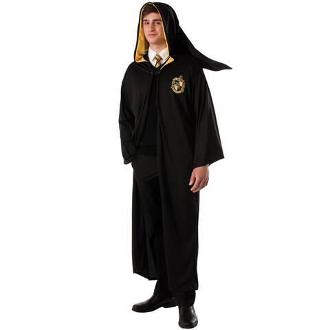 Rubies Hufflepuff Robe Adult Costume - Black