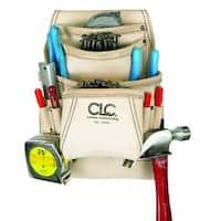 CLC 179354 Carpenter's Nail & Tool Bag, 10 Pockets