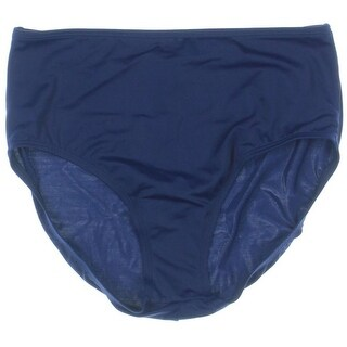 Jantzen Womens Solid High Waist Swim Bottom Separates - 10