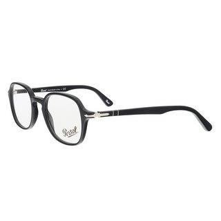Persol PO3142V 95 Black Round Optical Frames - 47-21-145
