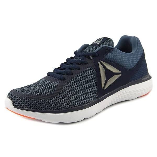 Reebok Astroride Men Round Toe Synthetic Blue Running Shoe